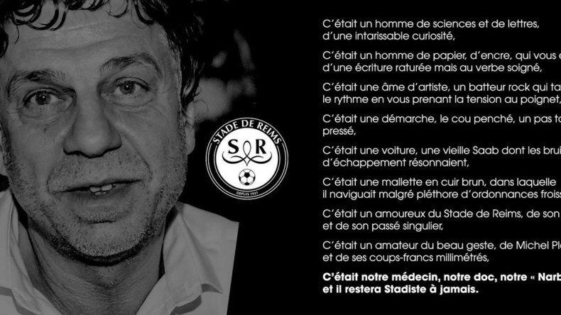 Médico de club francés se suicida tras contraer coronavirus