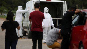 covid-19: brasil registro 54 nuevas muertes en 24 horas