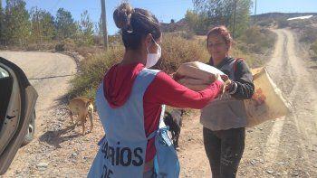 barrios de pie pide donaciones para garantizar alimentos en los comedores