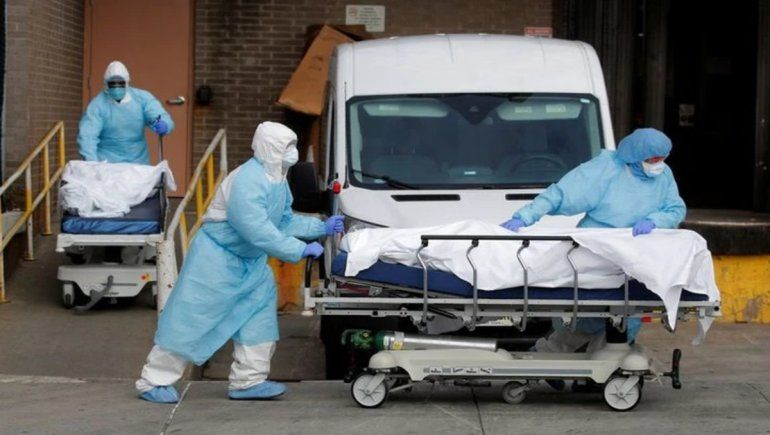 Nueva York devastada por el Covid-19:  731 muertes en un día