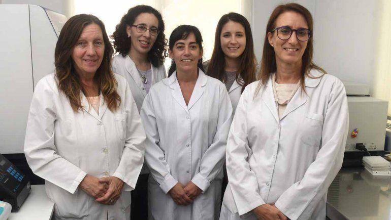 Parte del equipo de investigación liderado por Mariana Viegas y del que forma parte Nabaes.