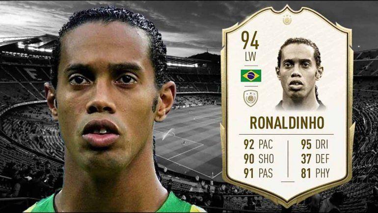 Eliminarían a Ronaldinho del FIFA 20 por estar preso