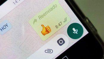 noticias falsas: whatsapp pone limites al reenvio de mensajes
