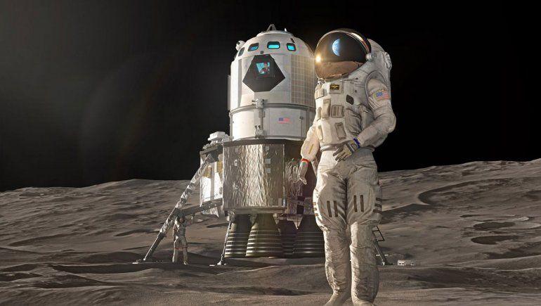 Revelaron nuevos detalles de la base lunar que se creará
