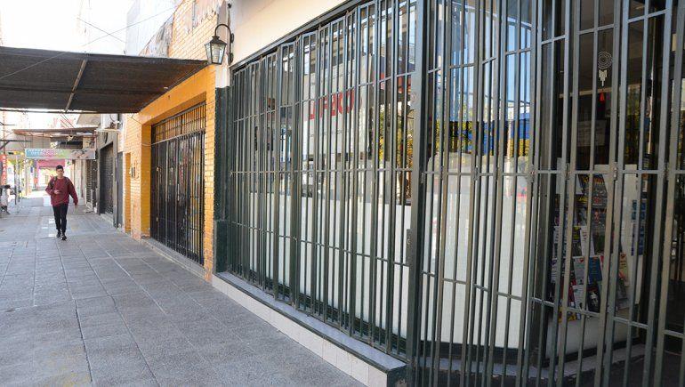 Las medidas de fase de aislamiento provocaron el cierre de algunos comercios.
