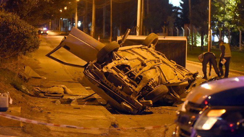 Accidente fatal en Ruta 22 y Solalique: murieron dos personas