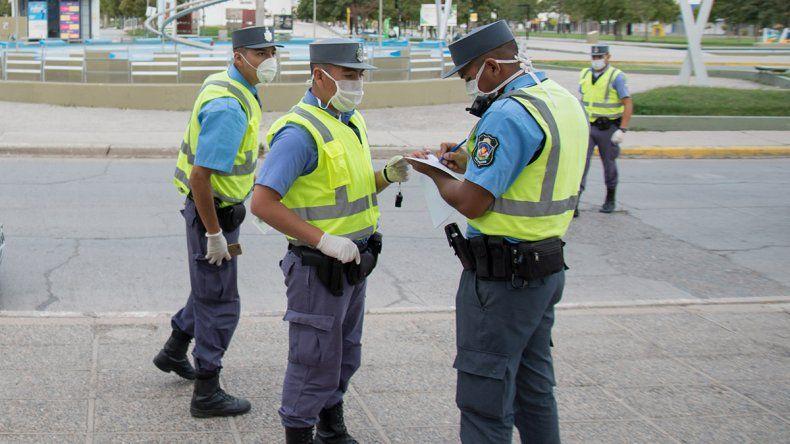 A los policías neuquinos la ART les cubre COVID-19