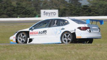 Rodrigo Aramendia arrancó su segundo año en TC2000 con un nuevo proyecto, ya que sumó al FDC Motor Sports.