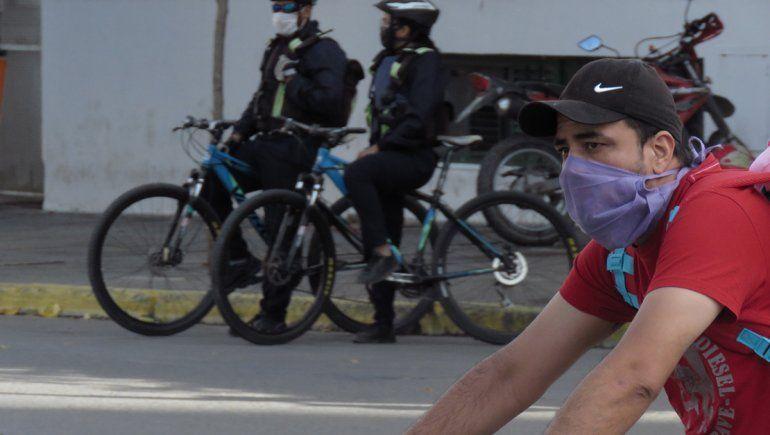 Neuquén: circular sin protector facial también será un delito