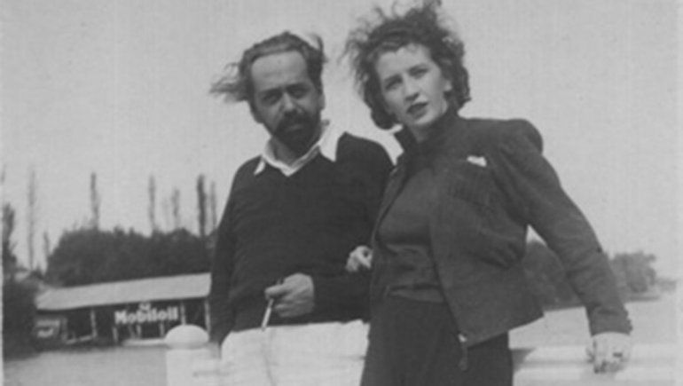 Oliverio Girondo y Norah Lange.