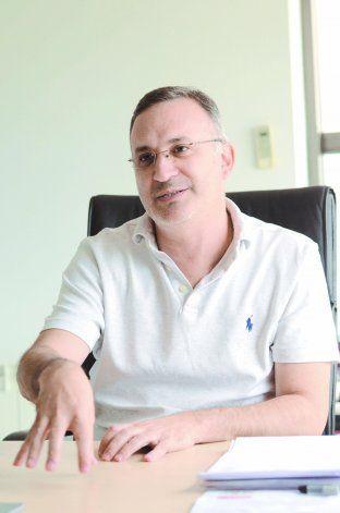 Fernando Schpoliansky, secretario de Finanzas municipal.