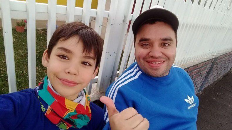 Emotivo: Pato Albarrán encontró en el ciclismo una pasión escondida