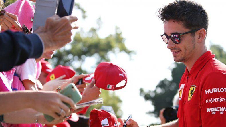 Charles Leclerc habló sobre la posibilidad que existe de llevar a cabo algunos Grandes Premios a puertas cerradas.
