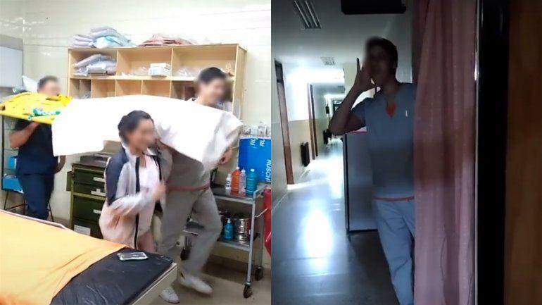 Personal de salud hizo una serie de videos en Tik Tok y desató la discusión