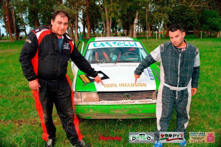 Javier Carrera inició un proyecto inclusivo en el automovilismo tras ver la alegría de su hermano Emanuel al acompañarlo.