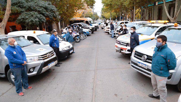 Suman personal de Defensa Civil para intensificar los controles en las calles