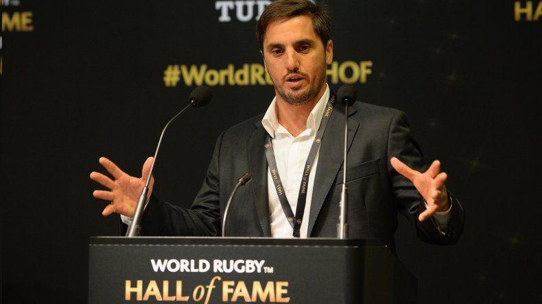 Presidencia de la World Rugby: Pichot llamó a votar un cambio