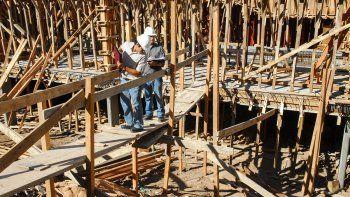 la construccion ya puso en marcha 500 obras en la ciudad