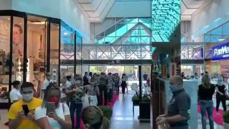 La insólita apertura de un Shopping en plena pandemia