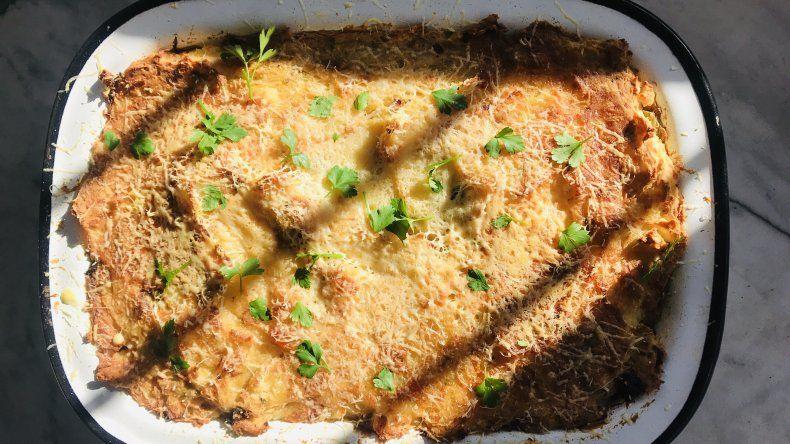 #Yomequedoencasa y cocino: pastel de papas