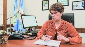 Cristina Storioni, ministra de Educación.
