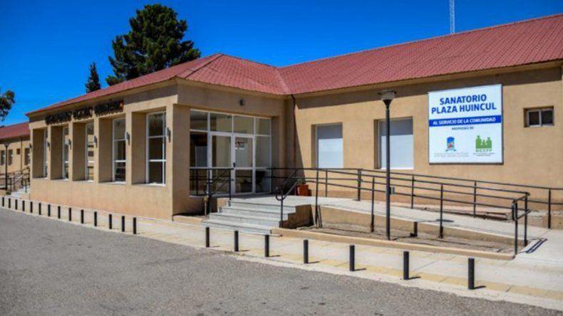 Plaza Huincul: limitan atención en sanatorio por dos positivos