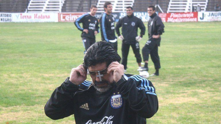 Un imperdible testimonio a 10 años del último paso de Diego por la región