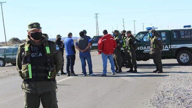 Gutiérrez recibió a los mineros en busca de una salida