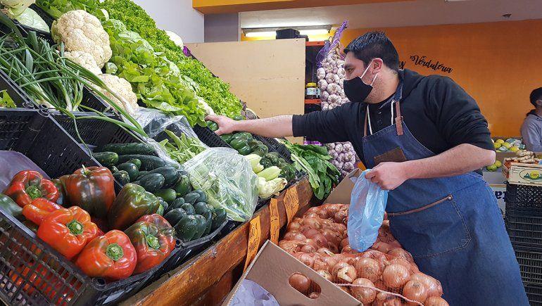 Las frutas y las verduras registraron aumentos de precios superiores al 8%.
