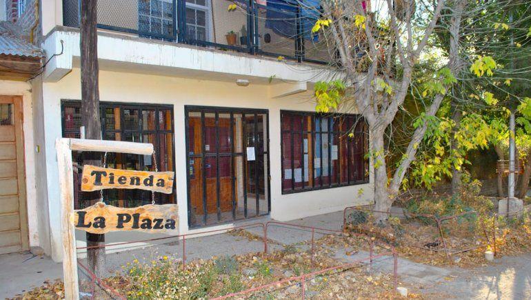 El local de Cecilia Kukita, en el centro de la localidad.