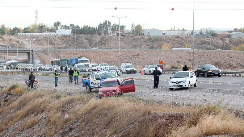 Un ciclista murió en un accidente en la Ruta 7