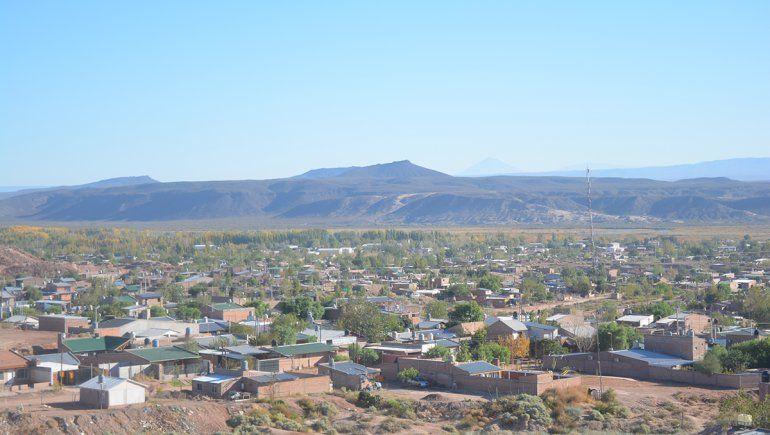 La localidad de Rincón de los Sauces.