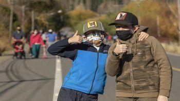 Los niños y niñas preguntan hoy en San Martín de los Andes.