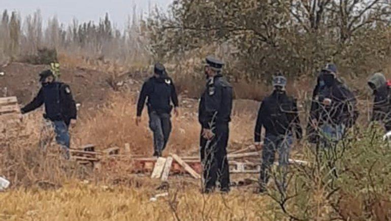 La Policía desactivó un intento de toma a unas cuadras de la Jefatura