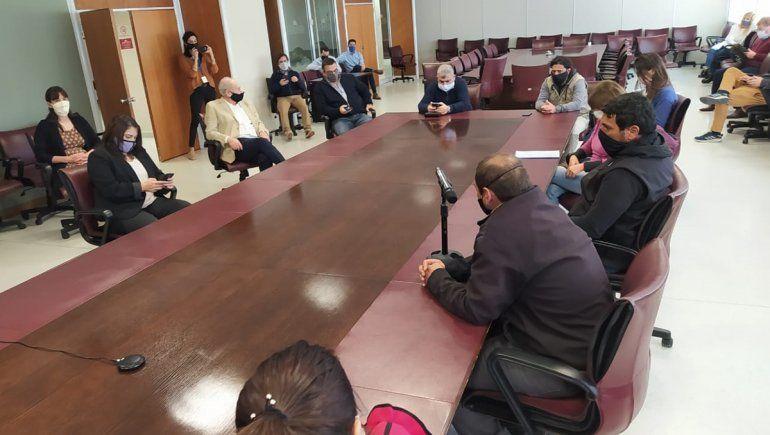 Mineros de Andacollo fueron recibidos en la Legislatura