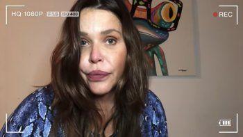 nazarena, contra un ex: me filmo teniendo sexo sin que me entere