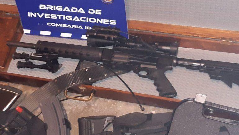Por un robo armado, secuestran un arsenal en una casa del barrio Confluencia