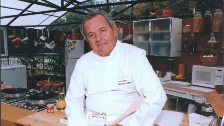 El Gato Dumas, un referente indiscutido de la cocina argentina.