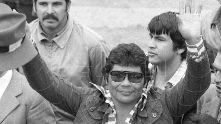 Víctor Emilio Galíndez el día que tocó el cielo con las manos en una pelea memorable.