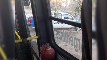 en una hora asaltaron a dos choferes de autobuses neuquen