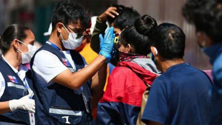 Chile registró  nuevo récord de contagios en un día y supera los 60.000 casos