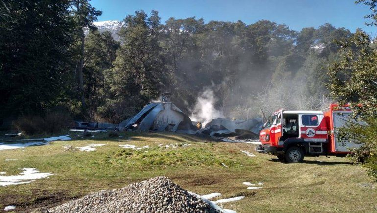 Por nuevo ataque mapuche no concluyeron pericias en Villa Mascardi
