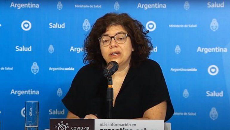 Carla Vizzotti aclaró cuáles fueron los días con más casos y muertes por coronavirus en el país.