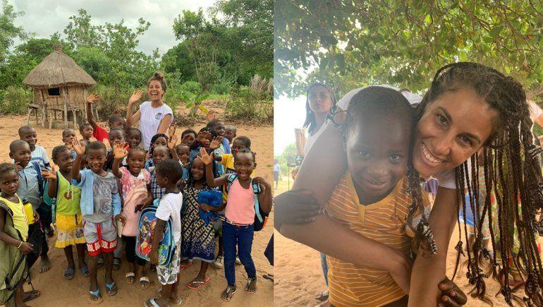 La neuquina que viajó a África para recuperar sus raíces y construir aulas
