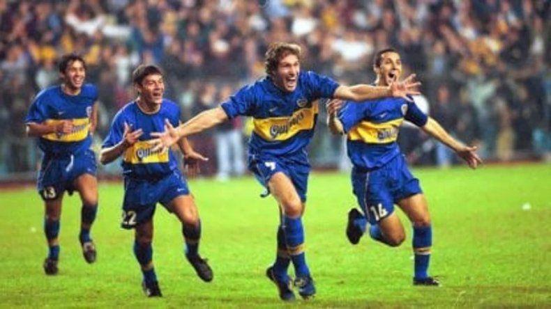 A 20 años de uno de los triunfos más festejados de Boca ante River