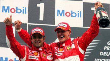 Felipe Massa, ex compañero de Michael Schumacher en Ferrari, hizo referencia al estado de salud del siete veces campeón del mundo de Fórmula 1.