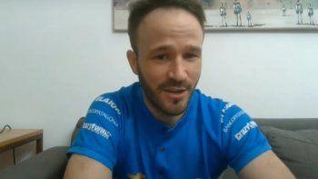 """Agustín Canapino se consagró en el """"Campeonato de las Estrellas 2"""" y se ganó un volante G29 y una pedalera Logitech G, pero se lo """"donó"""" a Alfredo Ardusso, hermano de Facundo."""