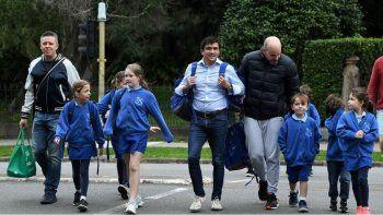 australia abrio las escuelas y miles de estudiantes regresaron a las aulas