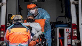 el peor momento de chile: 75 muertes en solo un dia