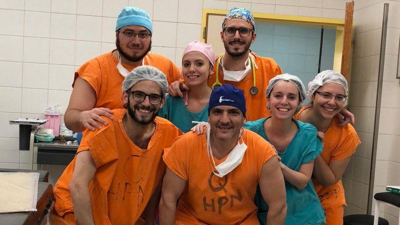 Los médicos que recorren la Provincia en búsqueda de las sonrisas de los niños